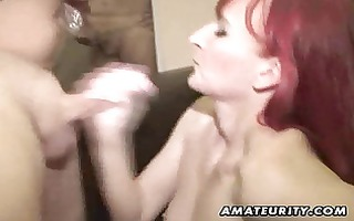 dilettante girlfriend homemade act with 3 ramrods