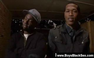 blacks thugs breaking down sissy white guys 20