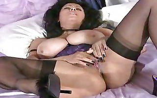 giant boobs on aged in nylons wanking snatch