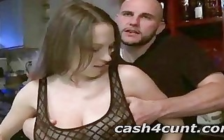 real beauties sell their snatches into porn after