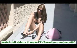 patricia cute little lascivious brunette hair