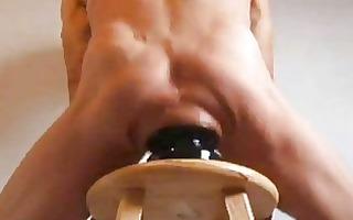 humongous ass stretching ass plug fuck