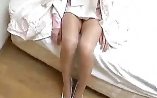 cute japanese hotty cosplay and gang group sex