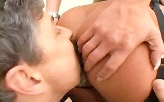 hot blond babe takes dildo and cock in every of