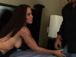 Onia Nevaeh Has Her Hubby Service a Pulsing Dick