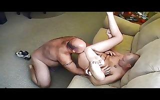 bear eats butt