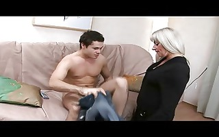 silver haired d like to fuck in nylons fucked