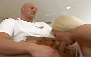 golden-haired mother i housewife having group sex