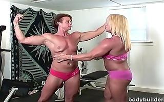bodybuilding porn with hawt bush