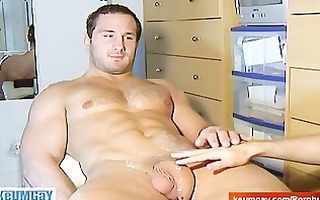 enzo a real str boy getting wanked by a homo guy