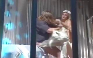 nurse desires to let us this sex freak go so she