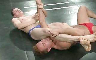 homo wrestling match decides who will receives