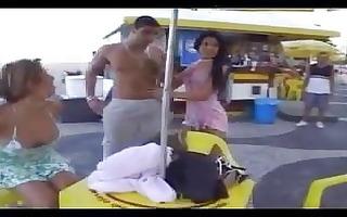 insane orgy after beach football