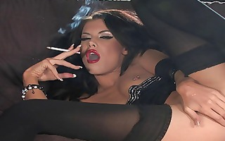 love this one, smoking lady