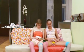 czech babes play with powerful stud