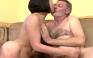 grandpa fuck this young chick