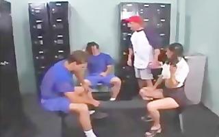 football team team fuck cheerleader doxy