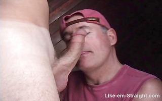 tasty chaps dick gets sucked by a dirty old
