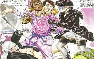 vintage merciless sexual femdom comic
