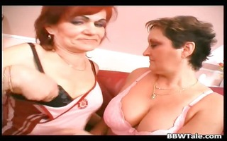 lesbo grannies twat and tits licking part4