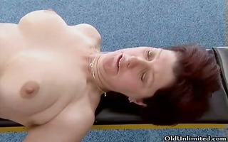 bawdy mature woman gets her lustful wet part2