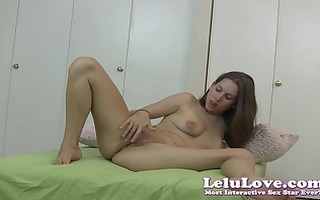 lelu love-blowjob reverse riding creampie trickle