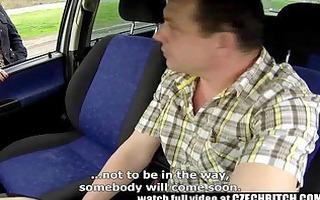 czech d like to fuck hooker screwed in car
