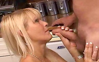 blonde milf bitch acquires a doggy style fuck fest