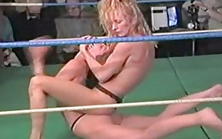 topless wrestling compilation