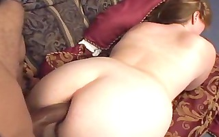 hawt bbw d like to fuck receives bbc creampie