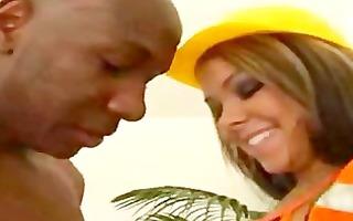 construction worker hottie engulfing bbc dark