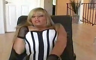 breasty mother i in fishnet