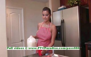 alexa loren breasty superb dark brown woman