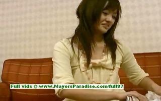 saori sinless nasty asian girl is talking about