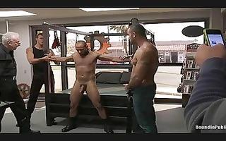 homo hunks abase their fuck partner