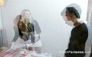 dutch angel is drilled fine