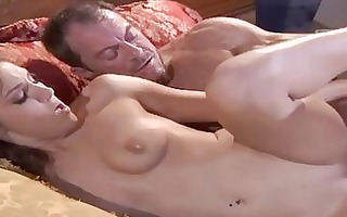 taut ass tattooed dark brown acquires slammed by