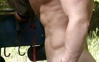 gay muscled males fuck during work hours