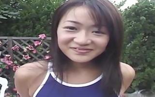 cute oriental teenage cutie receives tortured