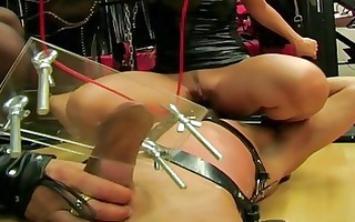 mistresses sit on their slave