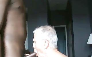 a bit of interracial male sex!