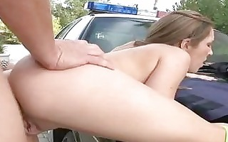 sexy arse dark brown acquires her snapper boned