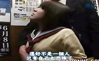 japanese schoolgirl oral pleasure and fucked by