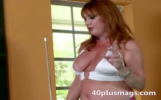 sexually excited mature divorcee seduces man