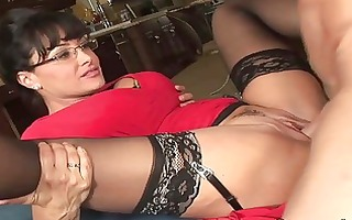 spruce large titted milf hoe acquires her fanny