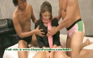 iori mizuki virginal japanese chick enjoys a some