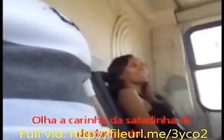 girl at bus makes me cum hard after flashing