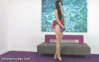 hot hottie in high heels showing