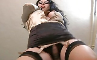 breasty milfs in stockings playing solo