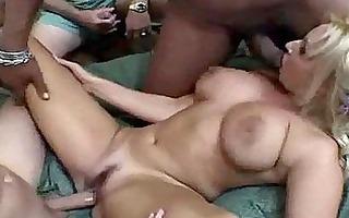 naturally buxom milf slut likes a hardcore gang